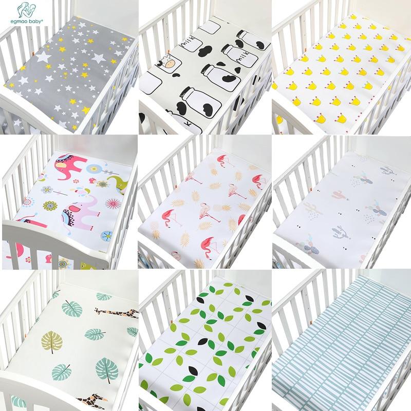 Baby Bed Wieg.1 Pcs 130 70 Cm De Beste Gift Pasgeboren Baby Wieg Hoeslaken Zacht