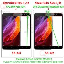 Full Cover Tempered Glass For Xiaomi Redmi 4 4A 4 Pro 4X 5 Plus Redmi Note 4X Pro Note 5A