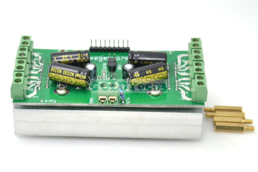 7.1 Class AB Amplifier Board 8-channel Amplifier Board For Game And Watch Blu-ray Movies 8X20W