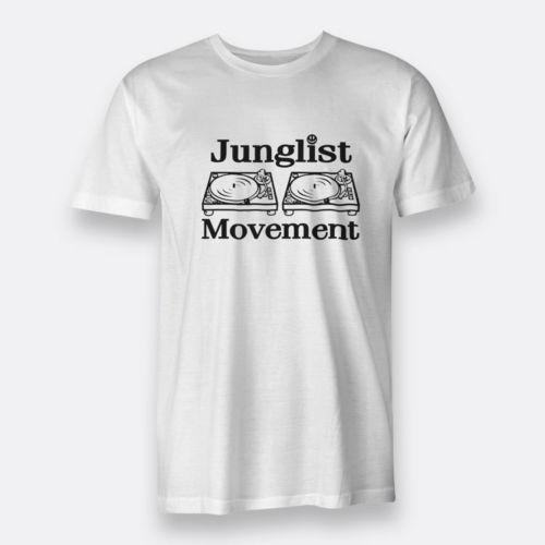 Джанглиста двигаться Для мужчин T Remix белый Для мужчин тройники Размеры S-3XL футболка