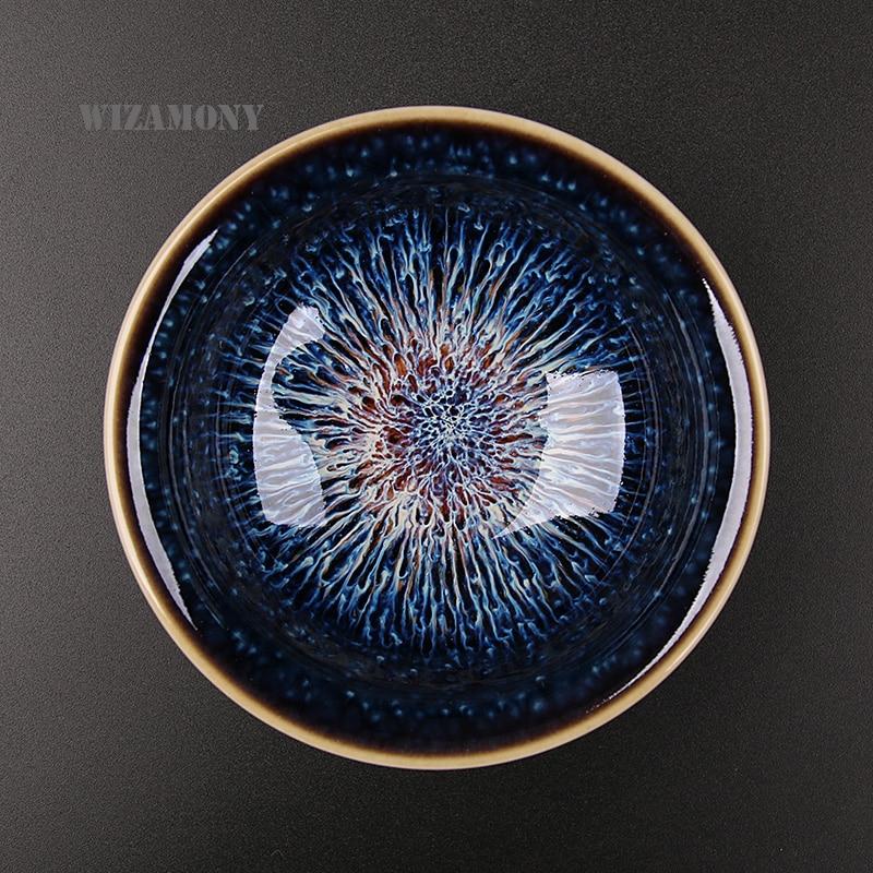 Heaven Eyes Glaze Porcelain Teacups