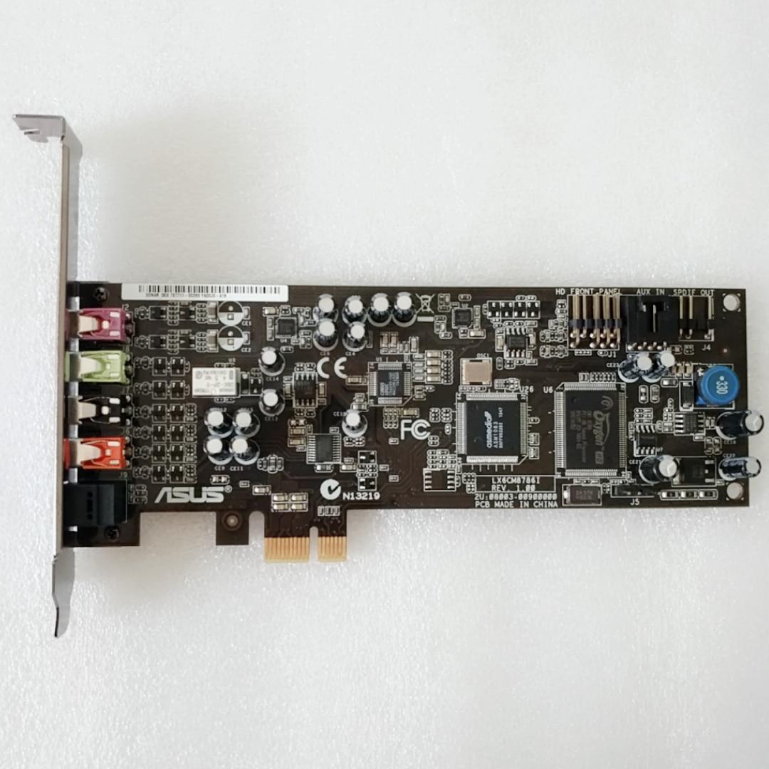 ASUS Xonar DGX PCI-E Sound Card Game Audio Music Sound Card 5.1 Channel 90%-95%new
