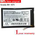 Original de la tableta de batería para acer iconia b1-a71 bat-715 1icp5/58/94 3.8 v 2710 mah 10wh b1-a71-83174g00nk