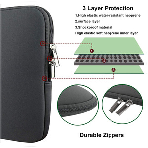 """Image 2 - laptop notebook case sleeve Computer Pocket 11""""12""""13""""15""""15.6"""" for Macbook Pro Air Retina Carry 14 inch for Huawei for Lenovo"""