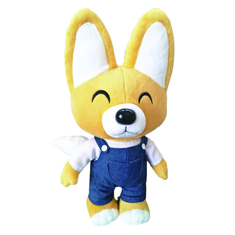 1pcs 30cm Kid Toys Korea Pororo Plush Toys Cute Fox Eddy Stuffed Animals Soft Toys Doll Pelucia Brinquedos for Children Gift 5pcs lot pikachu plush toys 14cm pokemon go pikachu plush toy doll soft stuffed animals toys brinquedos gifts for kids children