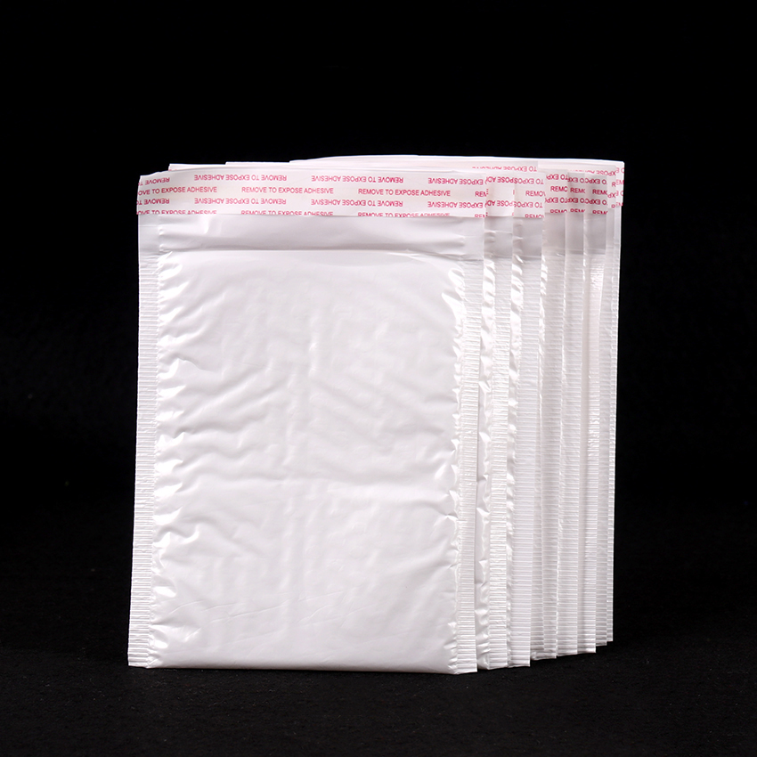 10 PCS Of Different Specifications White Bag Foam Envelope Foam Foil Office Packaging Envelope Moistureproof Vibration Bag