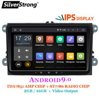 SilverStrong IPS Android9.0 for VW 2Din Radio for Passat B6 B7 for Golf5 6 for Skoda Octavia2 for superb for fabia 901