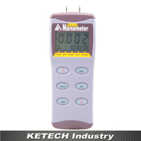 Digital Manometer AZ 8230 Pressure Gauge Differential Pressure Meter