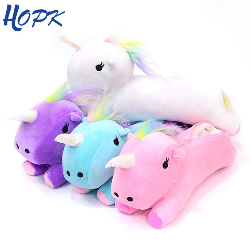 Unicorn Pencil Case Plush School Supplies Bts Stationery Pencil Bag Gift Pencilcase School Cute Pen Pencil Box School Tools stationery canvas pencil case school pencil bag school pencilcase office school supplies pen bag pencils writing supplies gift