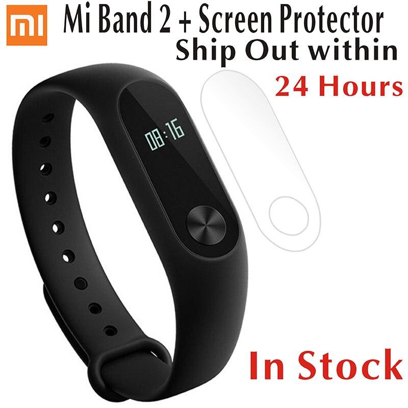 Stock Original Xiaomi Mi Band 2 Oled Screen Bracelet Smart Heart Rate