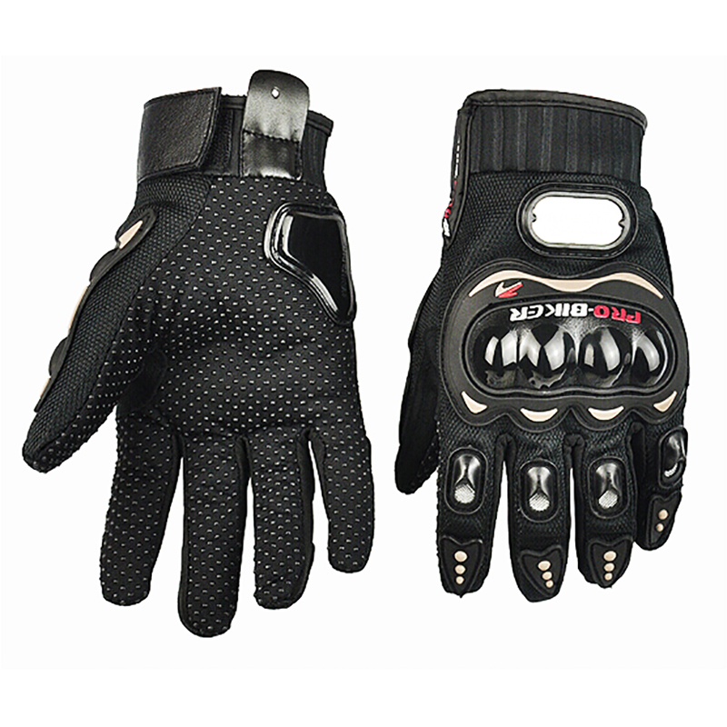 Pro-biker Gloves Motorcycle Breathable Racing Gloves Wearable Rubber Non-slip Gear Gloves