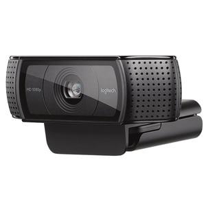Image 3 - Logitech HD פרו Webcam C920e, מסך רחב וידאו קורא והקלטה, 1080p מצלמה, שולחן עבודה או מחשב נייד מצלמת אינטרנט, C920 שדרוג גרסה