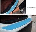 Adesivos de carro styling rear bumper tira de borracha para mitsubishi asx lancer x 10 9 xl outlander pajero sport 4 carisma acessórios