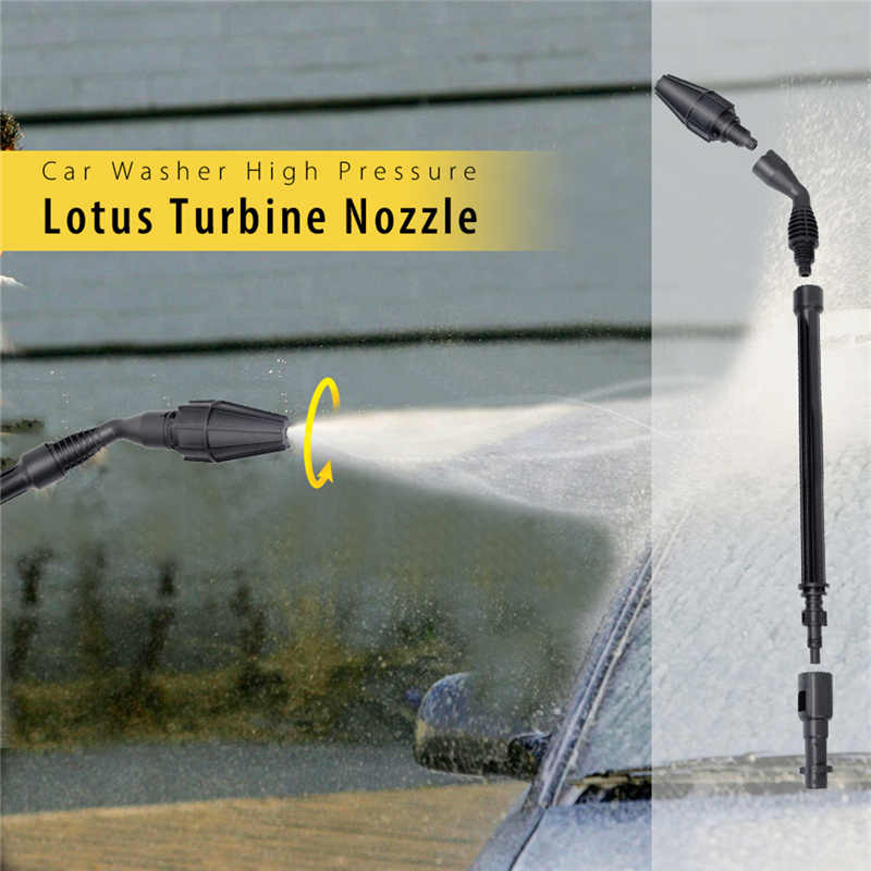 Auto Wasmachine Hoge Druk Waterpistool 15 Graden Water Spray Hoek Jet Lance Lotus Turbine Nozzle voor Lavor/Karcher