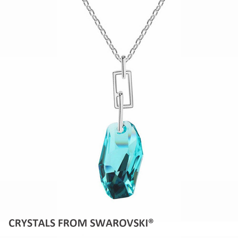 2016 gift for girlfriend Charming Crystal pendant necklace With Genuine Crystals from SWAROVSKI for Valentine's D Bijoux