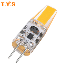G4 LED bulb COB LED lamp 3W DC/AC 12V 220V LED G4 COB Lamp Light  Dimmable Replace Halogen Chandelier LEDs