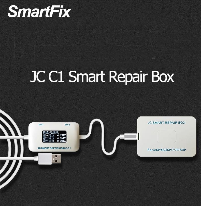 JC C1 Smart Repair Box for iPhone 6 6P 6S 6SP 7 7P 8 Plus MaingbMotherboard Charging rooting / fault detect Intelligent repair a fault 7