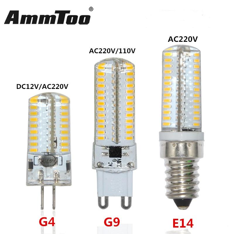 Reasonable 1pcs G4 Dc12v Mini Led Corn Bulb Silicone Body 3014 Smd Crystal Chandeiler 24 48 Leds Lamp Replace 10w 30w 40w Halogen Light Led Bulbs & Tubes