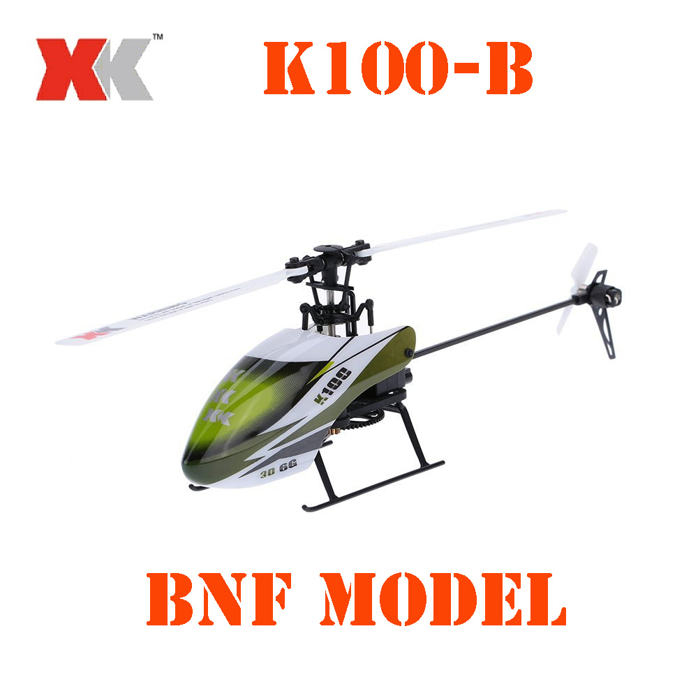BNF Model Original XK Falcon K100-B K100B 6CH 3D 6G System Brushless Motor BNF RC Helicopter original xk k124 bnf without tranmitter ec145 6ch brushless motor 3d 6g system rc helicopter compatible with futaba s fhss