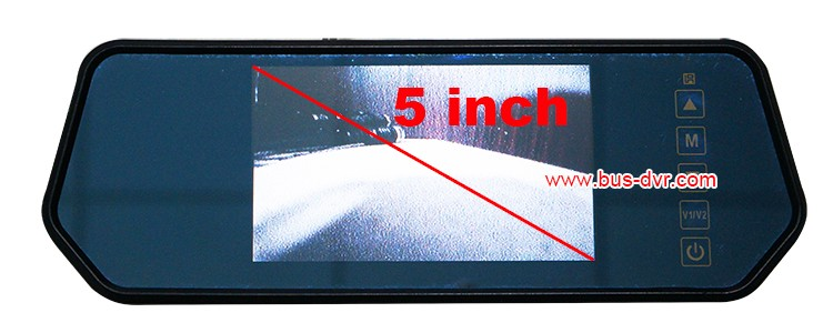 5inch rear mirror monitor without remote 7105T