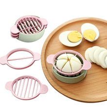 Multifunction Wheat Straw Cut Egg Slicers Tools Dividers Preserved Splitter Eggs Kitchen Essential Cooking huevos