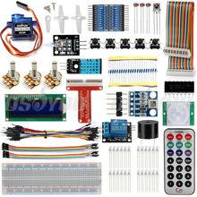Малина Pi 3 starter kit Ultimate опираясь suite HC-SR501 датчик движения 1602 ЖК-SG90 Servo LED реле резисторы