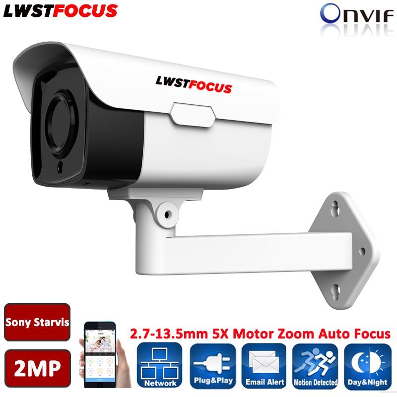 Sony Starvis IMX290+Hi3516C 60M 1080P IP Camera 2.0MP 5X Motorized Zoom Auto Focus Varifocal Outdoor IP Camera IR cut Onvif RTSP