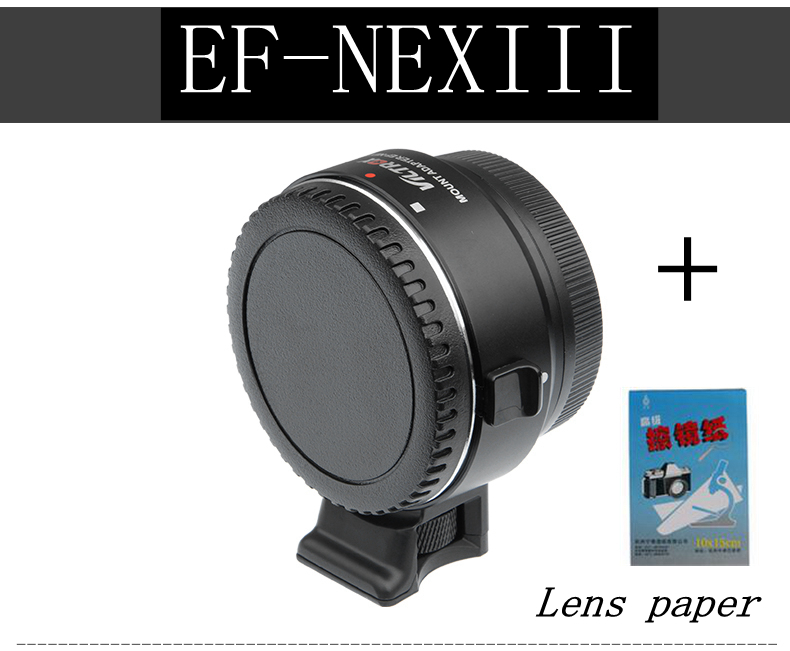 Viltrox Auto Focus Lens Adapter EF-NEX III for Canon EOS EF EF-S to Sony E NEX NEX-5R NEX-5C A7 A7II A7R II A7SII A6300 A6000 new canon eos 1200d dslr camera body with ef s 18 55mm f 3 5 5 6 iii lens black