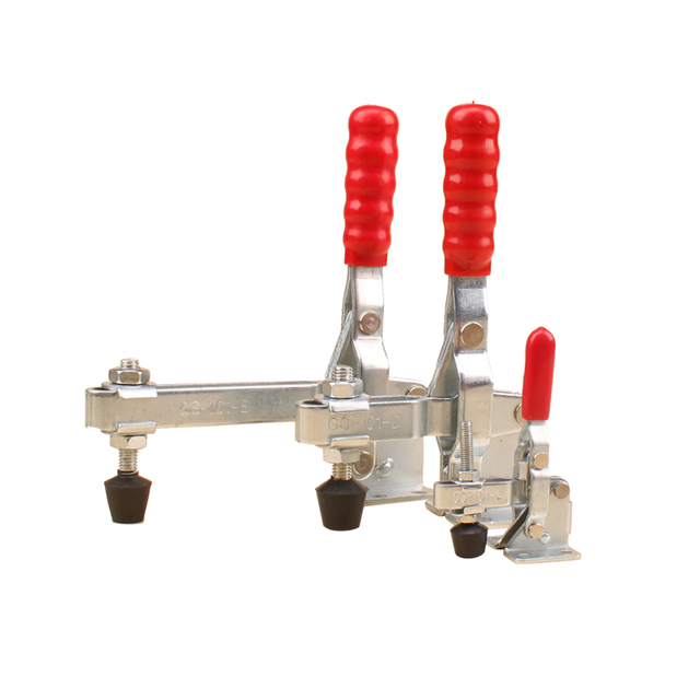Toggle Clamp Vertical Clamp Fixing Woodworking Machine Working Table Mechanical Presser Hand Tool