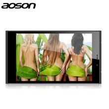 Barato Venta de Liquidación M706T Construido En 3G Llamada de Teléfono de la Tableta de Aoson Quad Core MTK8382 Android 4.4 Dual Cámaras Dual Tableta Ranura SIM
