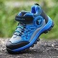Niños Zapatos de Niños Zapatillas de Deporte de Cuero Genuino Niños Zapatillas Niños Cómodo y Cálido Bebé Zapatos Antideslizantes Zapatos Al Aire Libre