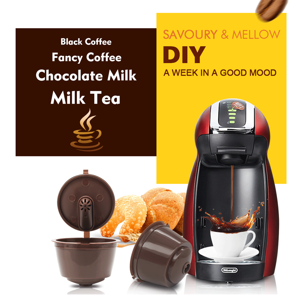 New Refillable Dolce Gusto Coffee Capsules Nescafe Dolce Gusto Reusable Capsule Refill Dolce Gusto Capsules Coffee Filters