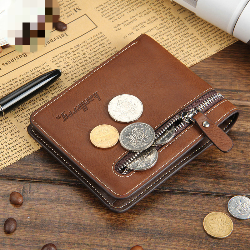 NEW Wallets men coin pocket purse Short section portfolio Men Wallets Casual Clutch Handy Multi-card bit wallet high quality