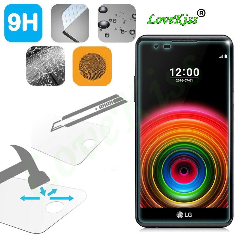 9H película de vidrio templado a prueba de explosiones para LG X Power XPower K220DS K220 LS755 US610 K450 Protector de pantalla funda de película de teléfono