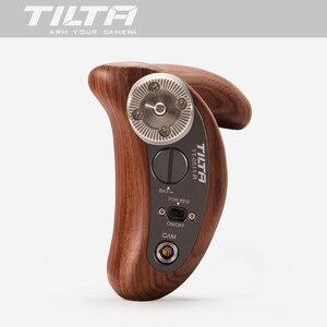 Image 3 - TILTA ใหม่ TT 0511 R จับไม้ handgrip W/REC Trigger ขวาสำหรับ SONY A7 สีแดง ARRI MINI BMD Canon ฟิล์มกล้อง RIG