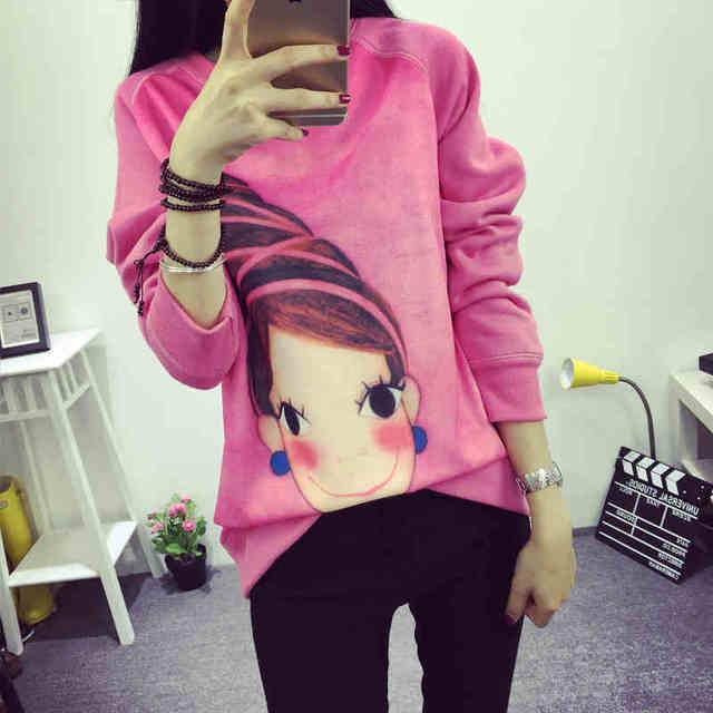 270bde277b Cheap wholesale 2017 new Autumn Winter Hot selling women s fashion casual  TX1056 plus size hoodies girls  cute sweatshirt
