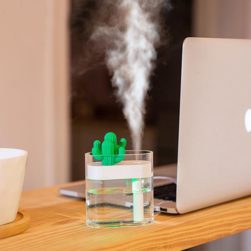 Humificador de aromas con forma de cactus 4
