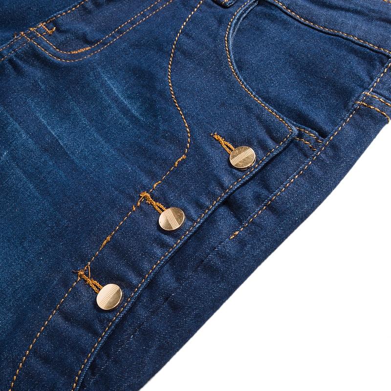 Jeans Mannen 2017 Nieuwe Mode Koreaanse Stijl Hoge Straat Slim Fit - Herenkleding - Foto 3