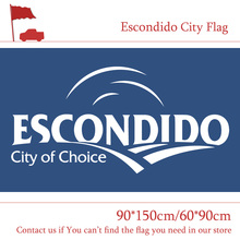 Free shipping City Flag Of Escondido USA State of California 90*150cm 60*90cm 3x5ft For Vote Event