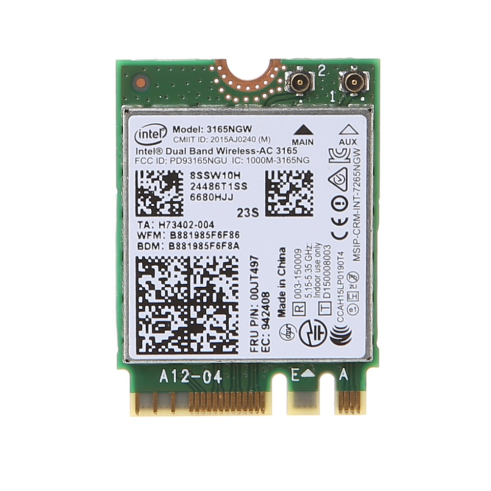 Atheros AR9280 2.4ghz 5ghz WLAN Minipci-express AR5BHB92 for Linux Hackintosh Win10 Wireless WiFi Network Card image