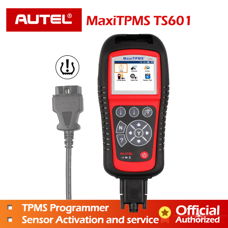 ECU reprogramming Autel TPMS TS601 Autel TS601 MaxiTPMS Tool with OBDII Code Reader and TPMS Sensor Relearn Reset Activate