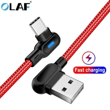 OLAF USB Type C Cable 1m 2m Fast Charge