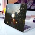 """Дождь Улица Стекла Ноутбук Наклейки Полное Покрытие Кожи для MacBook Air/Pro/Retina 11 """"12"""" 13 """"15"""" HP Dell Защитный Компьютер Наклейка"""