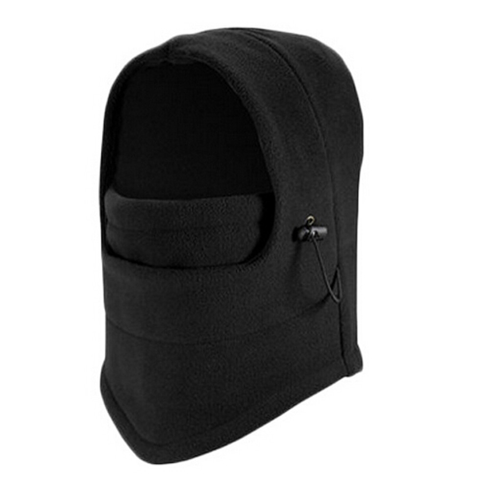 6 Color Men Winter Hat balaclava mask Hat Fleece Scarf Neck Warmer Face Snow Hat Male Winter Cap Male   beanies   ##