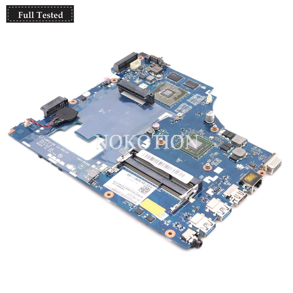 NOKOTION VAWGA GB LA-9911P For Lenovo Ideapad G405 14 Inch laptop motherboard  A6-5200 CPU onboard Geforce HD 8500 R3 DDR3NOKOTION VAWGA GB LA-9911P For Lenovo Ideapad G405 14 Inch laptop motherboard  A6-5200 CPU onboard Geforce HD 8500 R3 DDR3