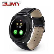 Viscoso X3 Bluetooth Relógio Inteligente Relógio para Homens Eletrônica Digital Esporte Smartwatch para Huawei Samsung Android Telefone Do Cartão SIM