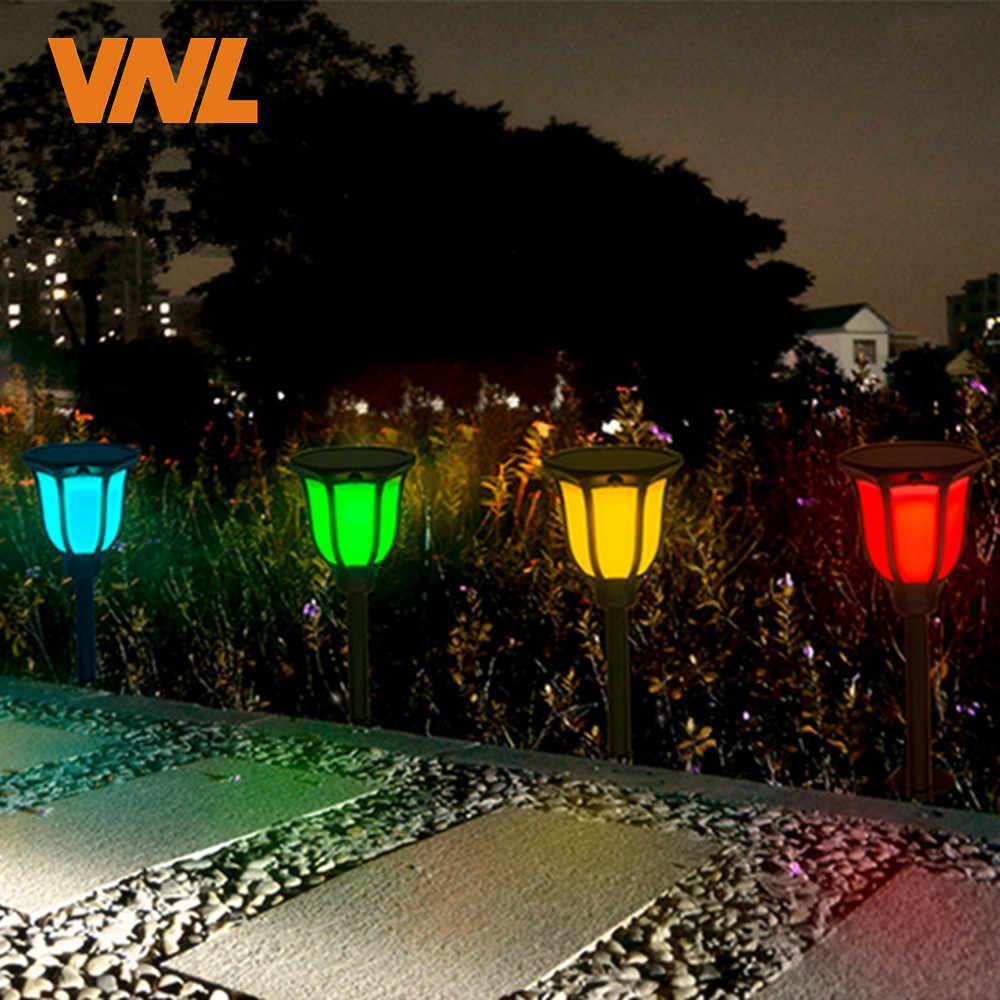 IP65 RGB Солнечный свет танцы светодиодный открытый мерцающий фонарь Водонепроницаемый для сада патио двора бассейна Свадебные украшения