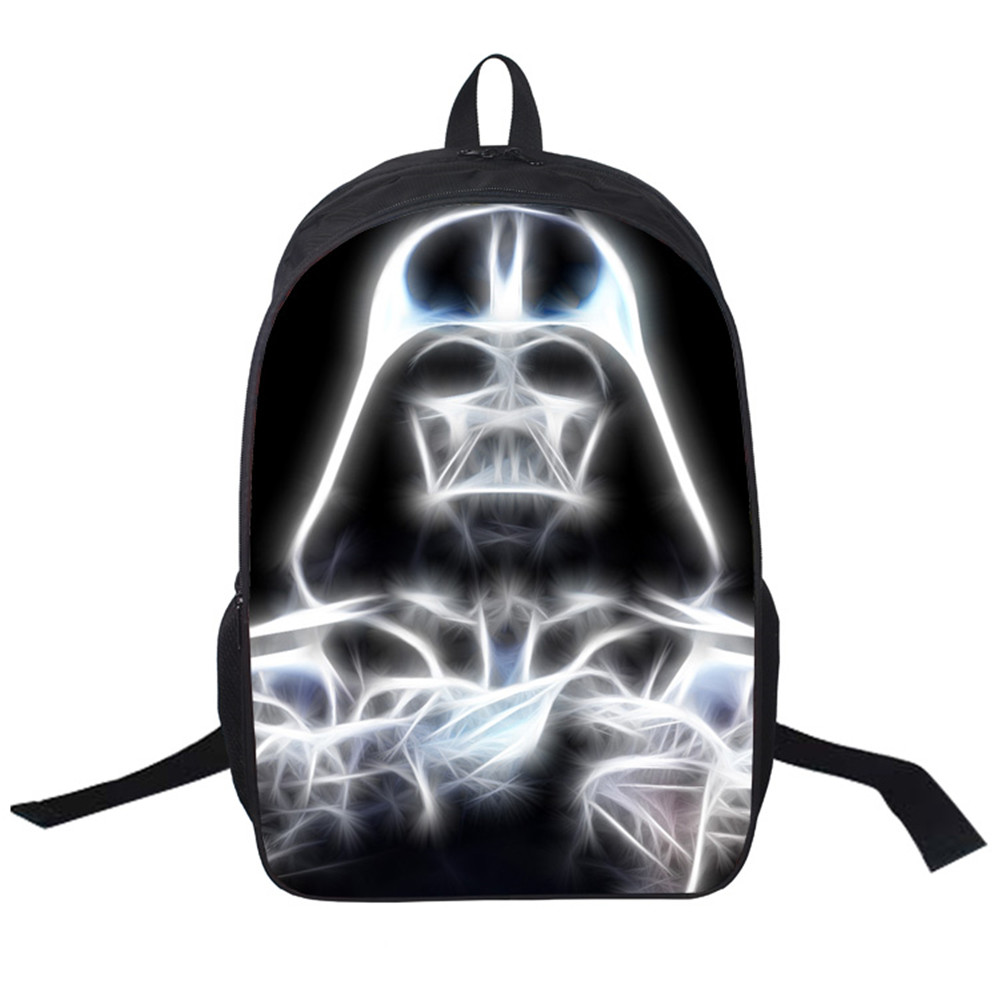 Women Bags Moive Star Wars The Force Awaken Backpack Students School Bag For Girls Boys Rucksack Mochila Private Customiza