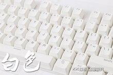 Arkadan aydınlatmalı PBT klavye beyaz parlıyor tuş mekanik klavye 104 LED aydınlatma saydam klavye kiraz mx OEM