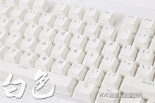 Teclado mecânico com luz traseira pbt, teclado mecânico 104, iluminação led translucente, cherry mx, oem